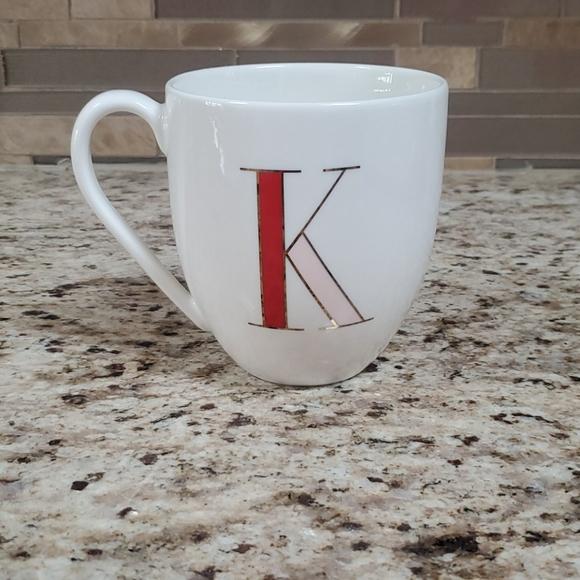"Lenox-Kate Spade ""It's Personal"" letter K mug"